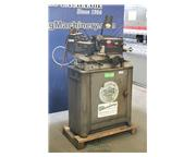 """No. 2075 Sixoux , valve face grinder, .1575"""" to .5625"""" capacity, tool cabinet, w"""