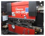 55 Ton Amada 3-Axis CNC Down-Acting Hydraulic Press Brake