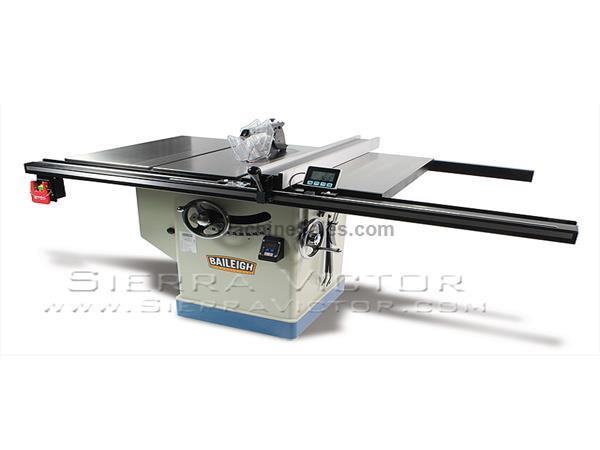 New Baileigh Professional Cabinet Table Saw Ts 1248p 36