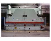 "500 Ton, Cincinnati # 500H , Hyd press brake, 20' OA, 16'6"" BH, 50 HP, elec foot peda"