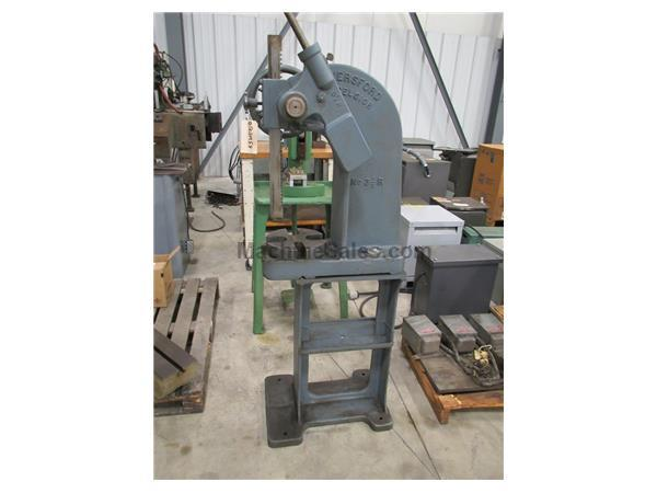ROYERSFORD MODEL EXCELSIOR 3-1/2R RATCHET TYPE ARBOR PRESS, 5 TON