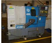 HYUNDAI HIT 400G CNC GANG STYLE TURNING CENTER,   MODEL HIT 400G