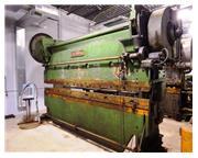 Cincinnati Mechanical Press Brake.  Estimated 125-Ton