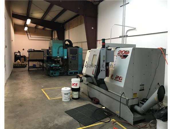 2000 Haas SL-20T CNC Turning Center