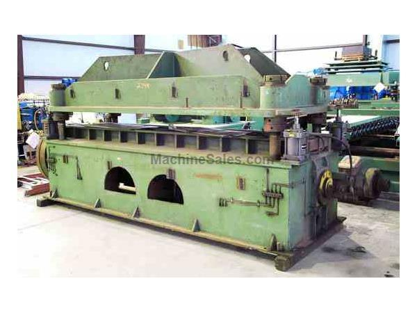 "100 Ton (EST.) x 4"" (EST.) YODER 4-Post Cut-Off Press"