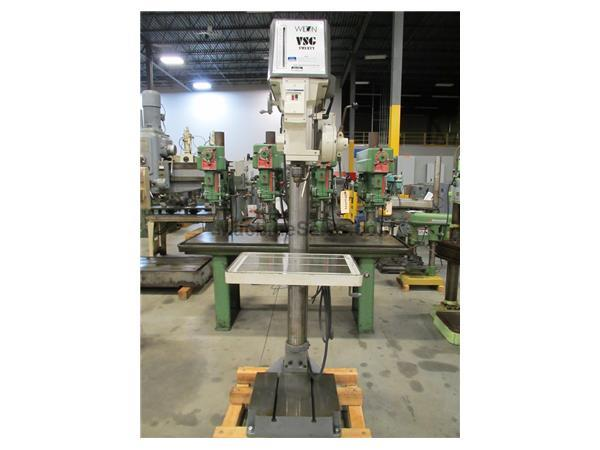 WILTON 2035 VS GEARED HEAD DRILL PRESS WITH POWER FEED, 20""