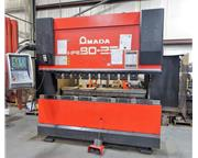 AMADA HFE8025S 88 Ton 8-Axis CNC Hydraulic Down Acting Press Brake