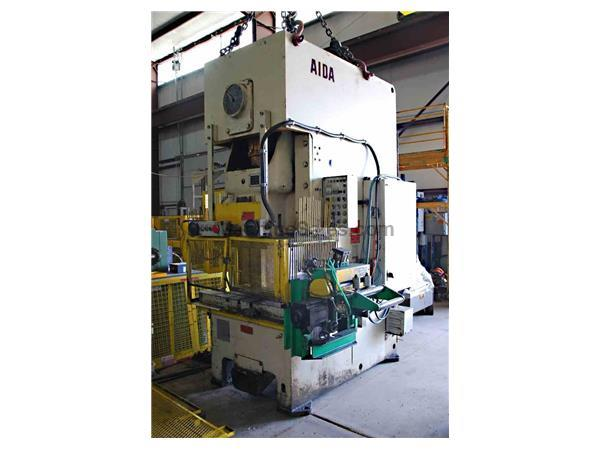 "165 Ton x 5.11"" AIDA Mechanical Press"
