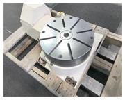 "16"" TSUDAKOMA RY-401 HORZ CNC ROTARY TABLE, T-Slotted Surface Plate, 2"