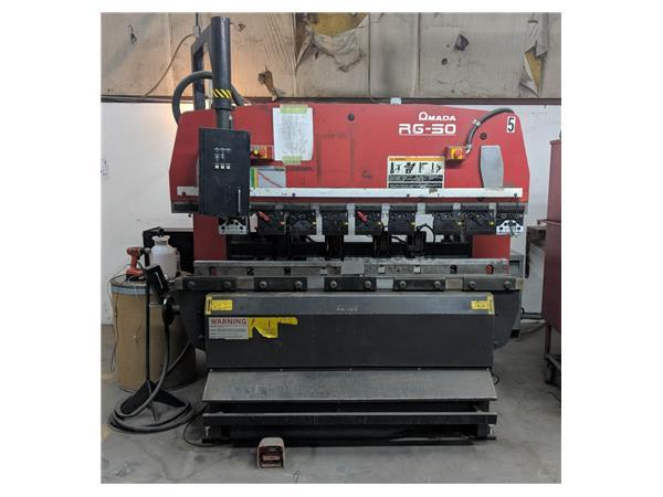 AMADA RG50 3-Axis CNC Up-Acting Hydraulic Press Brake