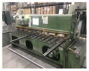 8'x10 gauge Pearson Hydraulic Power Squaring Shear