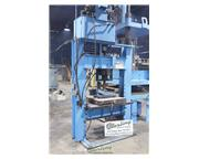 75 Ton, Dake # 75H , sliding ram electric/ hydraulic H-Frame press, start/stop push button