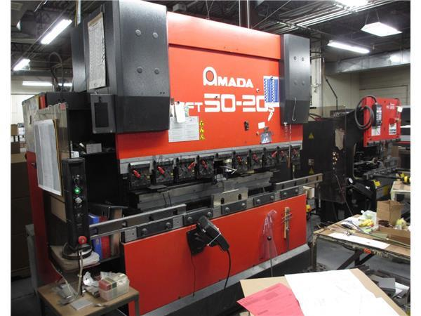 2004 AMADA HFT 5020 S Down-Acting Hydraulic Press Brake