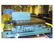 "86"" x 86"" TOS ISO16 Infeeding Power Rotary Table"