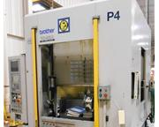 Brother TC32A CNC DRILL/TAP CENTER WITH PALLET CHANGER, Nikkon 4th axis, 21