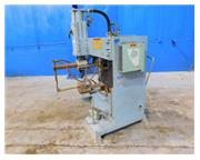 80 KVA Kimura # SK-C-80A , projection & spot welder, dual acting clamping, 1986, #7002P