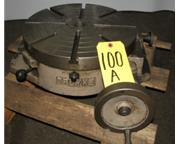 "15"" Troyke # R-15 , horizontal rotary table, #6874P"