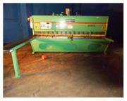 """1/4"""" x 10' Accurshear # 625010 , hydraulic shear, 36"""" FOPBG, sq.arm, 20 HP, 1993"""