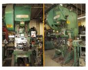 75 Ton, Minster #7, OBI punch press, serial #22907, #6393P