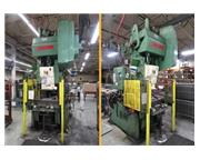 "75 Ton, Bliss # C75 , OBI punch press, 4"" stroke, 15"" SH, 36"" x 24"" be"