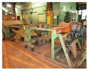 200 Ton, Rodgers # F200/4/D-1 , hydraulic horizontal wheel press, s/n #F200-1097, #6630P