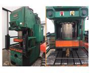 "150 Ton, Pacific # 150-PF-II , Hyd C frame press, 12"" stroke, 38"" x 24"" bed"