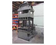 "50 Ton, Dake , 4-post, hydraulic press, 36"" stroke, #6754P"