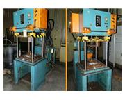 "12 Ton, Neff , 4-post hydraulic press, 18"" stroke, serial #P9347, 1991, #6706P"