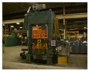 "200 Ton, Bliss # HP2-200-48-36 , 1.5"" stroke, 75-150 SPM, 36"" x 57"" bed, 24"