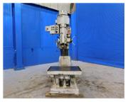 "3.4'-11"" Johansson , radial arm drill, power elevation & clamping, 7-1/2 HP, #6964P"