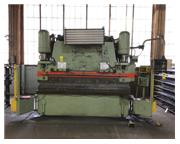 225 Ton, Pacific # K225-10 , 10' OA, Hurco 5C 2-Axis CNC BG, Merlin light curtains, #7586P