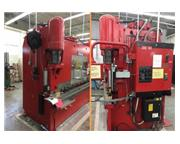 "225 Ton, Pacific # K225-10 , CNC 2-Axis hydraulic brake press, 10' OA, 8'5"" BH, 1976,"