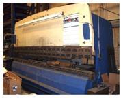 200 Ton, Amada Promecam, CNC hydraulic press brake, 13.3' OA, Hurco Autobend 7, #4611P