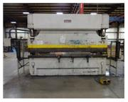 "165 Ton, Pacific # J165-12 , CNC hyd 2-Axis press brake, 12' OA, 126"" BH, 30 HP, #804"
