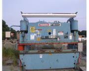 135 Ton, Niagara # HBM-135-8-10 , 10' OA, Hurco 5C control, lite curtain, 25 HP, 1988, #70