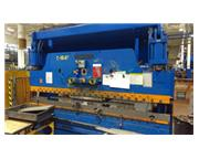 "135 Ton, Cincinnati # 135CB10 , CNC 2-Axis hydraulic press brake, 12' OA, 126"" BH, #7"