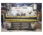 100 Ton, Niagara # HBM-100-8-10 , 10' OA, Dynabend control, SDI lite curtain, 1985, #6717P