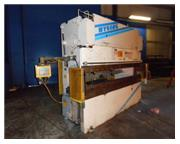 "100 Ton, Wysong & Miles # MTH-100-120 , CNC 2-Axis hyd press brake, 10' OA, 102"" BH,"
