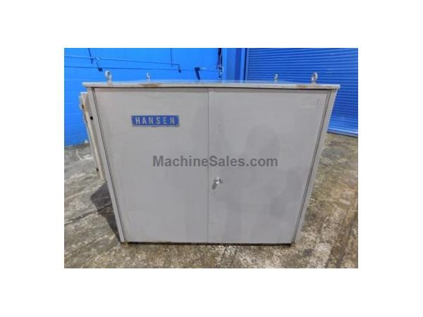 5 Ton, Hanson # 5WT1P1C , refrigerated water chiller, 5 HP, 18 gal @ 35 psi, #7818P
