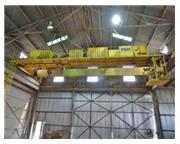 "35 Ton, P & H #35/7CA56, double girder top running bridge crane, 56'8"" Span, #6905A"