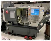 2013 Haas ST-10T CNC Lathe w/ Servo 300 Bar Feed