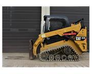 2014 CATERPILLAR 257D SKID STEER W/ AUX HYDRAULICS - E7030