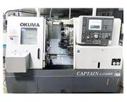 OKUMA CAPTAIN L370MW, 2005, LIVE MILLING, SUB SPINDLE, (10) LIVE HOLDERS