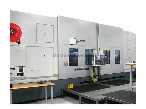 Okuma Multus B750 W 5 Axis Multi Function CNC Lathe