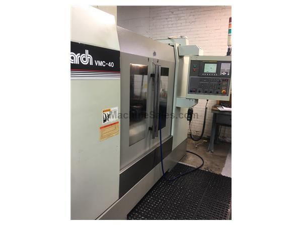Monarch VMC40 w/ Haas Rotary Indexer