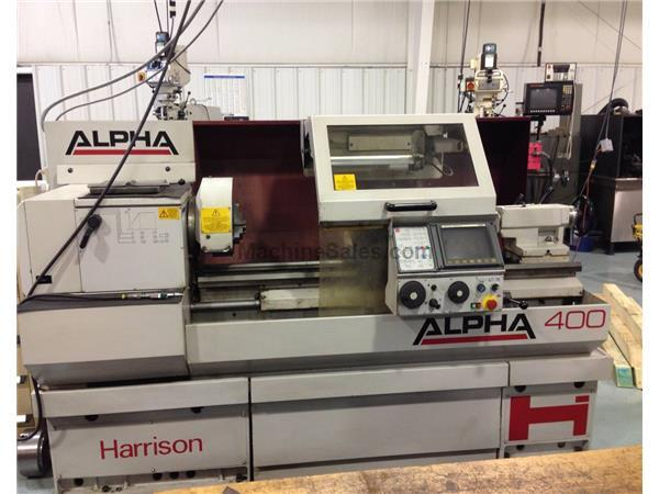 Harrison Alpha 400 Toolroom Lathe