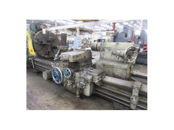 "52"" x 696"" LeBlond # NR50X58 , dual carriage heavy duty engine lathe, stdy rest, #8301Pomona"