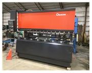 110 ton Amada CNC Press Brake, NC9-EXII CNC, backgauge, foot control