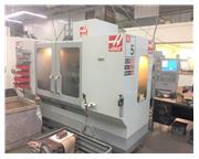 HAAS ES-5-TR, 2009, 5TH AXIS TRUNNION, TSC, PROBING, 40 ATC