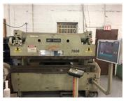 60 Ton x 8' ACCURPRESS Hydraulic Press Brake, ETS3000 2 Axis